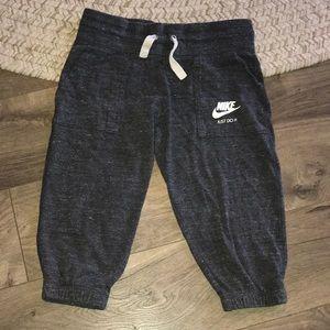 Grey Nike Capris